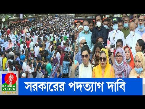 ধর্ষণ-নির্যাতনের দায় নিয়ে সরকারকে পদত্যাগের দাবি জানিয়েছে বিএনপি | BNP | Banglavision News
