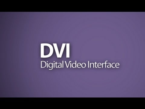 DVI - DVI is a popular video interface that can send digital or analog video between sources and displays. There are different types of DVI connections that look v...