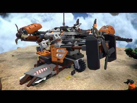 Конструктор Цитадель несчастий - LEGO NINJAGO - фото № 12