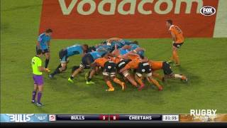 Bulls v Cheetahs Rd.9 Super Rugby Video Highlights 2017