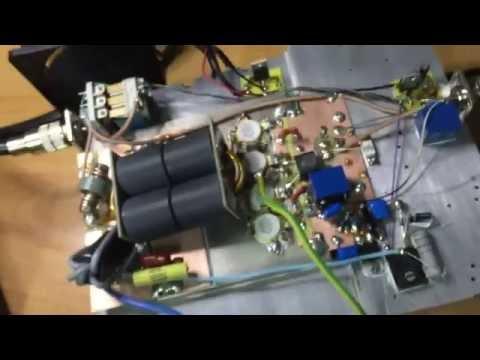 VRF2933 LDMOS 1.7KW HF linear amplifier built by YO6PMX
