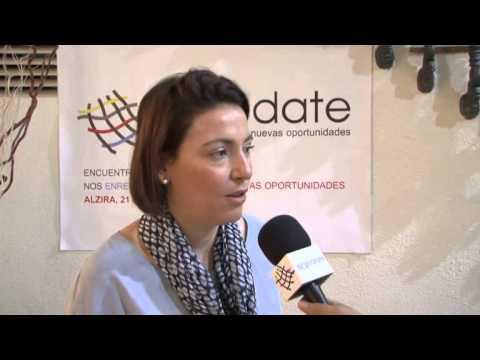 Elisa del Río del CEV en Enrédate Alzira