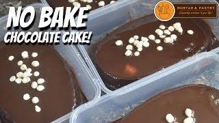 Video NO BAKE CHOCOLATE CAKE! | with Homemade Chocolate Sauce | Ep. 52 | Mortar and Pastry MP3, 3GP, MP4, WEBM, AVI, FLV April 2019