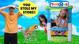 Video Silly Workers Ruin Pretend Toys R Us !!! MP3, 3GP, MP4, WEBM, AVI, FLV Maret 2018
