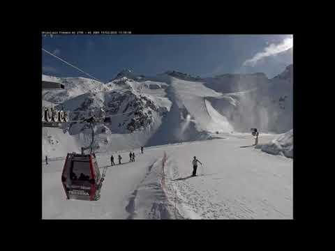 Webcams: Ghiacciaio Presena - Stagione 2020