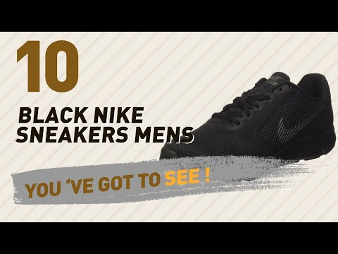 Black Nike Sneakers Mens // Hot Trending Oct 2017