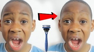 Shaving my brothers eyebrow off PRANK! (PRANK ON MOM) [SHE FREAKED OUT!] so i decided to give my little brother a break from all the pranks and prank my mum. I've seen alot of shaved eyebrow pranks on YouTube from robin birrell to lance Stewart, b.e.a.m squad and the ace family. so i decided to prank my mom by sending her a picture of my brother with shaved eyebrows.. little does she know that i photoshopped it lolol lets see her reaction!Bongo - text 66 668 to see what bongo says about you! Please note that bongo charges £2.50 per text!askbongo.comwww.facebook.com/askbongoGET SOME KING KENNY T-SHIRTS! : https://shop.spreadshirt.net/KingKennyTvMy Twitch: https://www.twitch.tv/kingkennytvMy Snapchat: SkullparkerMy Twitter : https://twitter.com/KingKennytvMy Facebook :https://www.facebook.com/KingKennyTv/My InstaGRUM : https://www.instagram.com/kingkennytv/My YouNow: https://www.younow.com/kingkennytv/channel