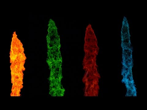 The Slow Mo Guys Colorful Fireballs in Slow