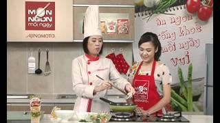Món Ngon Mỗi Ngày - Bông cải trộn tôm