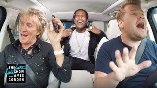 Video Rod Stewart & A$AP Rocky Carpool Karaoke download in MP3, 3GP, MP4, WEBM, AVI, FLV Februari 2017