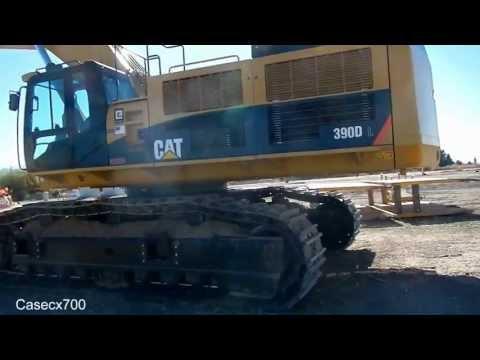 CAT 390DL Excavator Walkaround W/ Specs