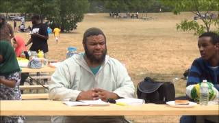Dawah in the park   (From the Mind of  Ibn Stanley)
