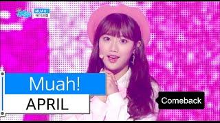 [HOT] APRIL - Muah!, 에이프릴 - 무아!, Show Music core 20151128, clip giai tri, giai tri tong hop