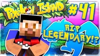 RIP LEGENDARY?! - PIXELMON ISLAND SMP #41 (Pokemon Go Minecraft Mod)