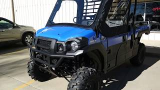 7. Lifted 2018 Mule Pro FX w/cab, heater and wiper
