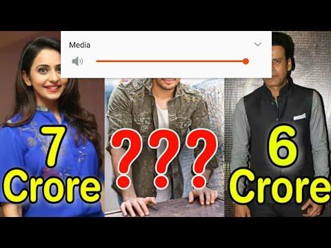 Shocking Salary of AIYAARI | Movie 2018 All Actors Actresses Salary.