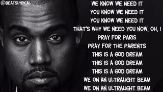 Kanye West - Ultralight Beam ft. Chance the Rapper LYRICS (HQ)