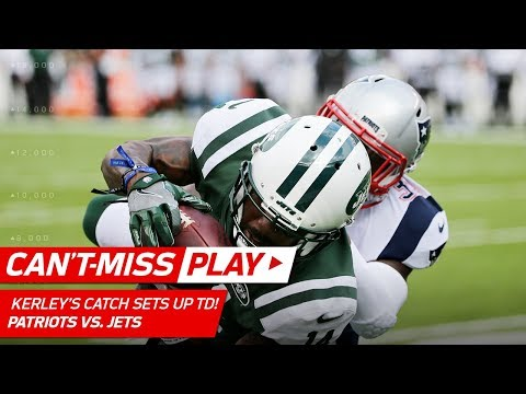 Video: Kerley's Amazing Leaping Grab Sets Up Seferian-Jenkins' TD Catch! | Can't-Miss Play | NFL Wk 6