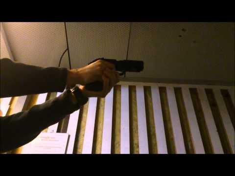 Beretta px4 Storm 9mm shooting