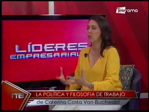 Líderes Empresariales: Caterina Costa, Mujer multifacética, abogada, empresaria, solidaria y madre