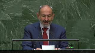 Nikol Pashinyan's Statement at the UN General Assembly