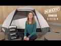 Kelty Gunnison 4 Tent w/ Footprint - video 1