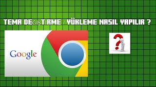 20 Haz 2016 ... Google Chrome Tema Ekleme Nasıl Yapılır ? ... google chrome ye nasıl tema nkoyulur? ... Google Chrome'a Nasıl Tema / Uygulama Yüklenir?