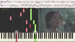 А напоследок я скажу (лёгкий фрагмент) (Ноты и Видеоурок для фортепиано) (piano cover)