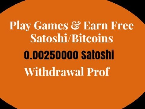 Play Games & Earn Free Satoshi/Bitcoins Fun For Coin