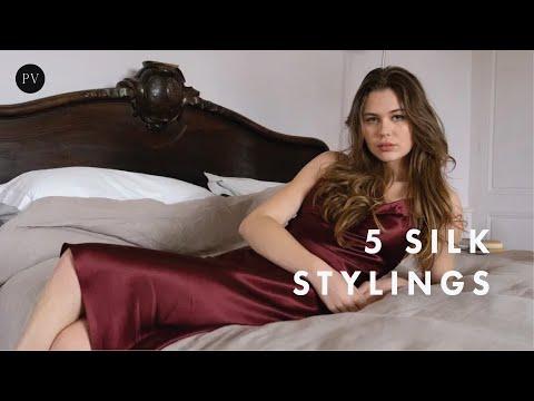 Play this video How to Style A Silk Dress 5 Elegant Parisian Looks  Julie Tuzet  Parisian Vibe