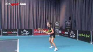 Tennis Highlights, Video - Tennis- Topspin Forehand Technique