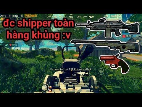 PUBG Mobile - Gặp 2 Anh Việt Nam Shipper Toàn Hàng Nóng | Lấy Top 1 Cũng Không Khó :v | Solo Squad - Thời lượng: 16:04.