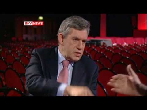 Gordon Brown - End of that interview with Adam Boulton - Thank you Ch4 for the unexpurgated bit ! And thank you Adam Boulton for having the balls to tell him what we all th...