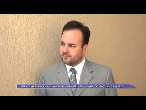 JATAÍ | Polícia apreende caminhonete com meia tonelada de maconha