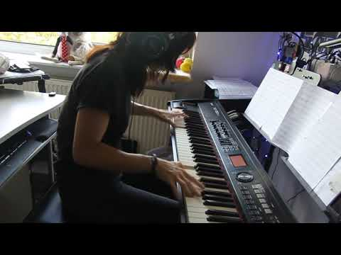 Iron Maiden  - The Educated Fool -  piano cover Video
