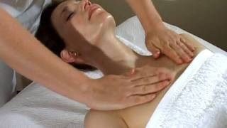 How To Do A Massage - Neck And Chest Professional Massage Demonstration