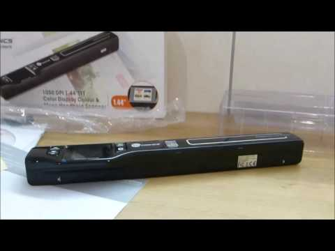 TaoTronics® TT DS011 Handscanner DINA4 Scanner tragbarer mobiler Dokumentenscanner