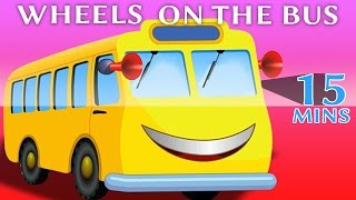 Wheels On The Bus Part 1 with 15 mins Compilation from Kids Rhymes available on Rhymes HeroAlso watch gameplay and walkthrough. Enjoy this video as toys come to life! This video targets children, stimulating their imagination with the help of colorful objects. Each episode will help the child develop his or her creativity and logical reasoning. Subscribe: https://www.youtube.com/channel/UCcttXUYRoTqVN6j4oiDysHwLike: https://www.facebook.com/pages/Rhymes-Hero/1086852778013719