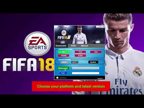 Fifa 18 Keygen Serial Key Generator [UPDATED]