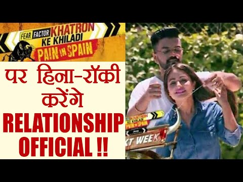 Khatron Ke Khiladi 8: Hina Khan and Rocky to make RELATIONSHIP OFFICIAL on Show   FilmiBeat (видео)