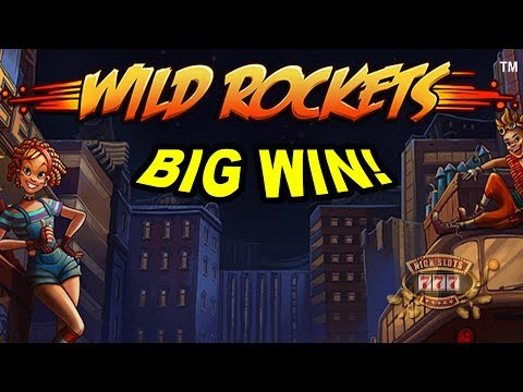 BIG WIN on Wild Rockets Slot - £2 Bet