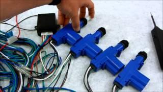 6. How Central Door Lock Actuators and Relays Work
