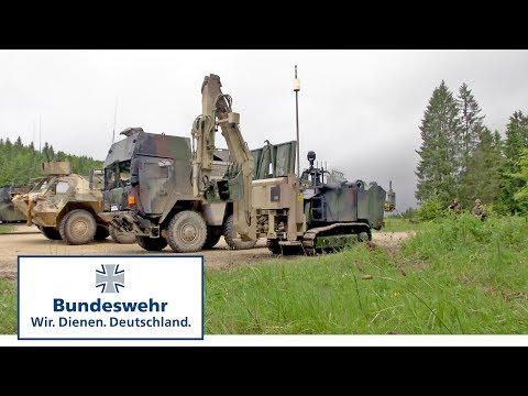 Achtung Sprengfalle! Die Bundeswehr räumt sie aus dem Weg