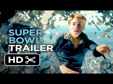 Insurgent Official Super Bowl Pre Game Trailer HD thumbnail