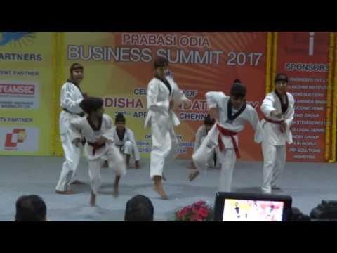 Hawrang Academy performs at Prabasi Odia Business Meet-2017 Chennai