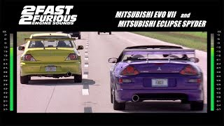 Nonton 2 Fast 2 Furious: Engine Sounds - Evo & Spyder Film Subtitle Indonesia Streaming Movie Download