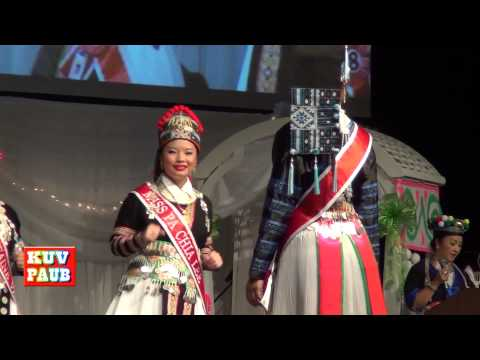 Miss Hmong MInnesota 2014 -End of 1st Round Dance