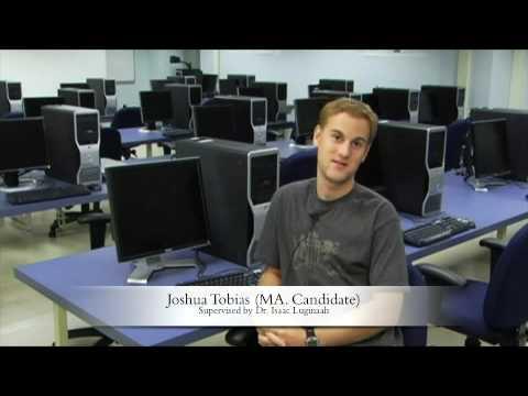 Aktuelle Master-Studenten in der Abteilung für Geographie