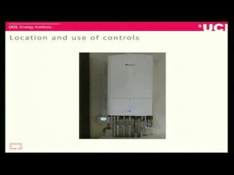 'Investigating central heating installation and use', Faye Wade, UCL-Energy