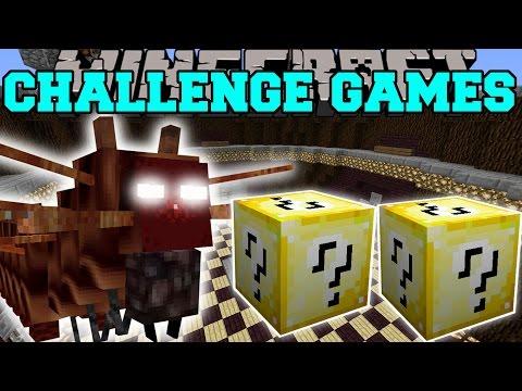 Minecraft: CATERKILLER CHALLENGE GAMES - Lucky Block Mod - Modded Mini-Game